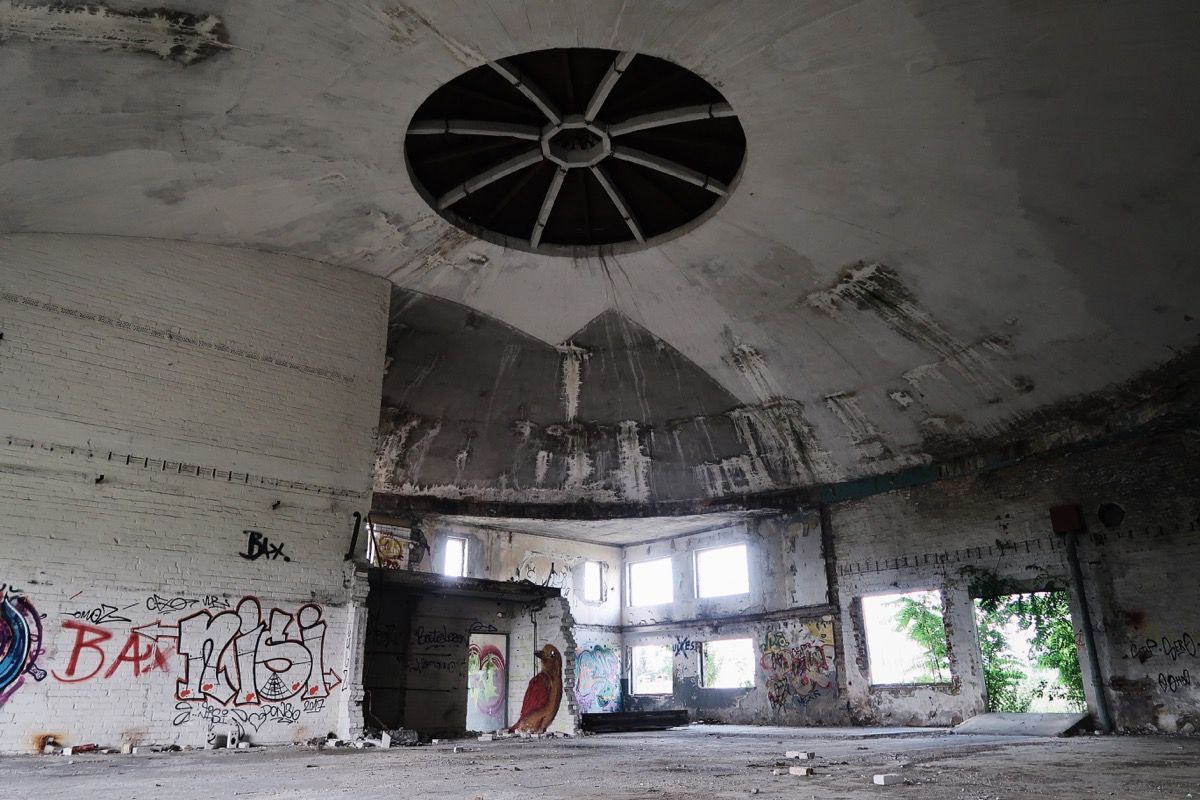 The abandoned Fliegerstation Berlin-Friedrichsfelde